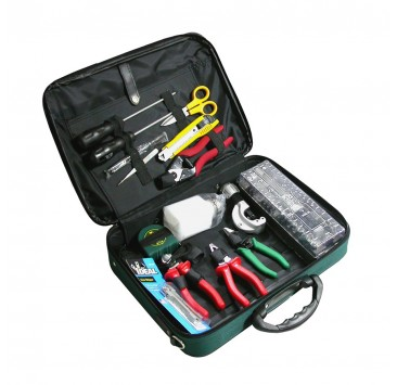 small SAT-02B Optical Fiber Splicing Tool Kit image
