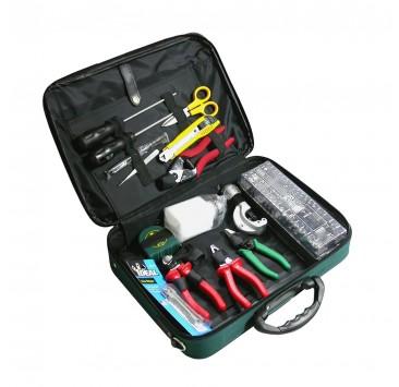 Kit de herramientas de empalme de fibra óptica SAT-02B