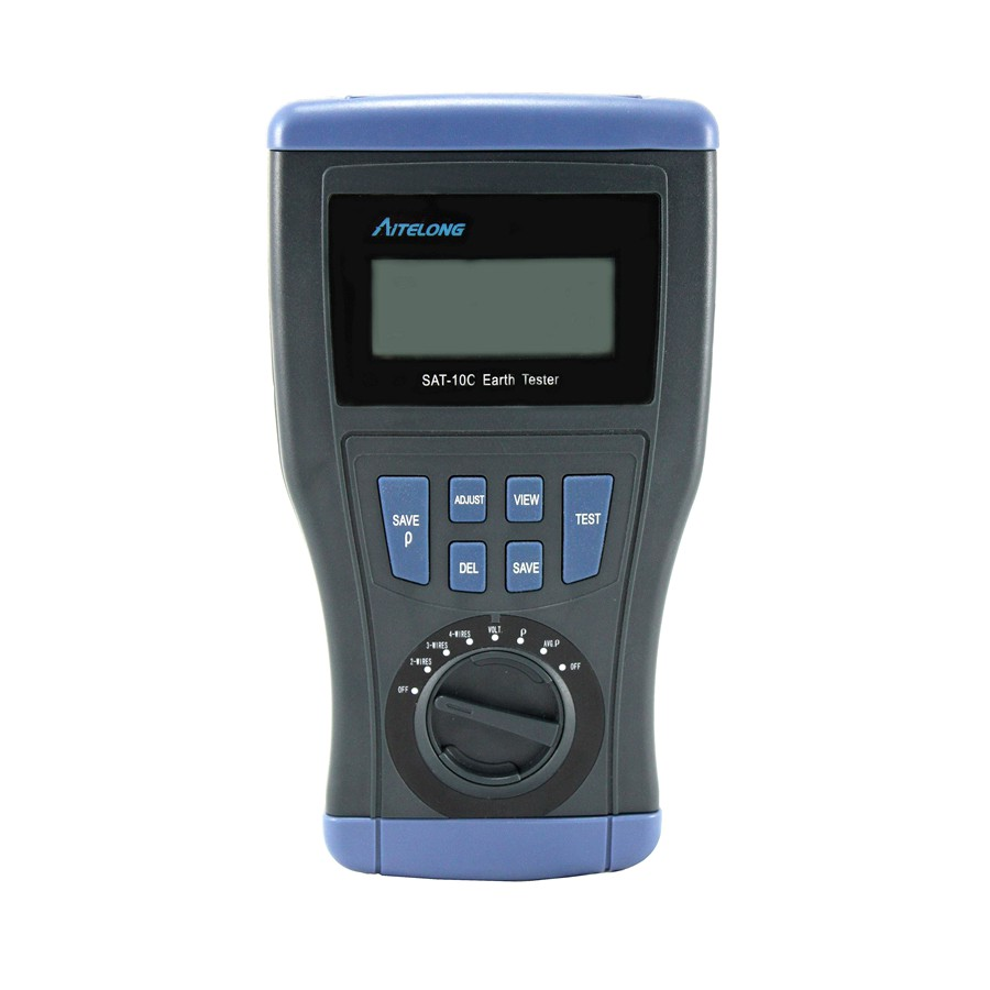 SAT-10C Digital Earth Tester