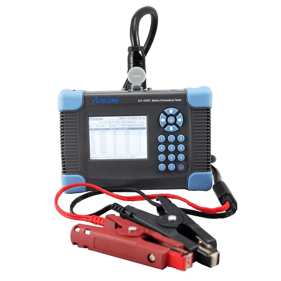 Teste de Condutância da Bateria SAT-AC